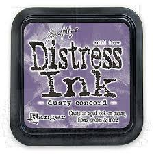 Ranger Distress Ink Pad - Dusty Concord Mini