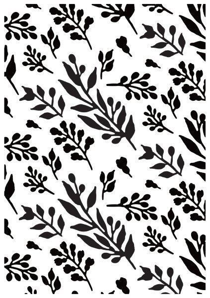 EF269 : Embossing Folder - Foliage