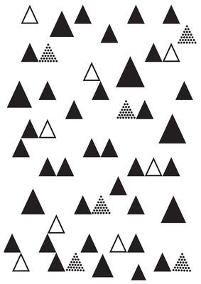 EF274 - Embossing Folder - Triangle Trees