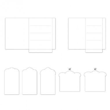 hcfp2-440-2 - Pocket and Flipfold Inserts F-White