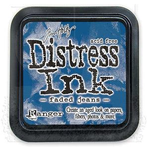 Ranger Distress Ink Pad-  Faded Jeans