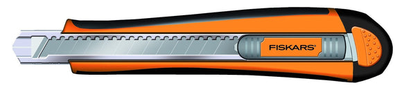 Fiskars Auto Re-Load Cutting Knife 9mm