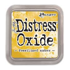 Ranger Distress Oxide Ink Pad - Fossilised Amber