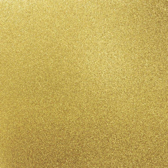 GC107 - Glitter Cardstock - Golden