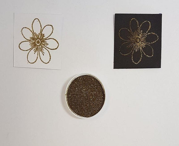 Embossing Powder - Gold Holographic Small