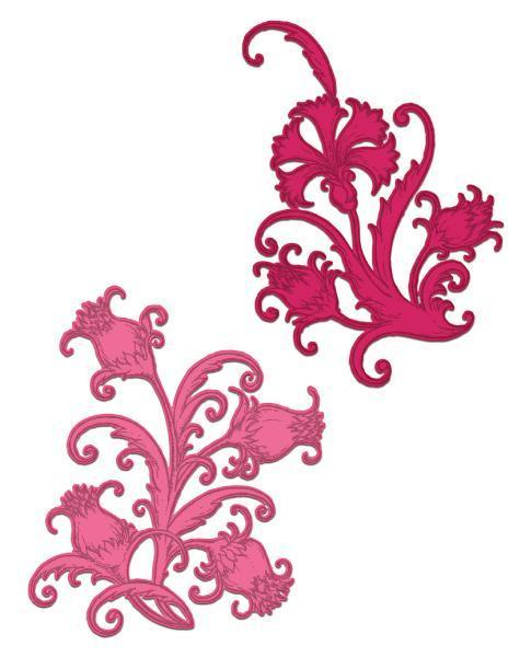 HCD1-7166 : Heartfelt Creations : Camelia Carnation - Fanciful Carnation Die