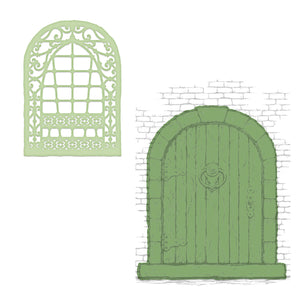 Heartfelt Creations : HCD1-7292 - French Doorway Die