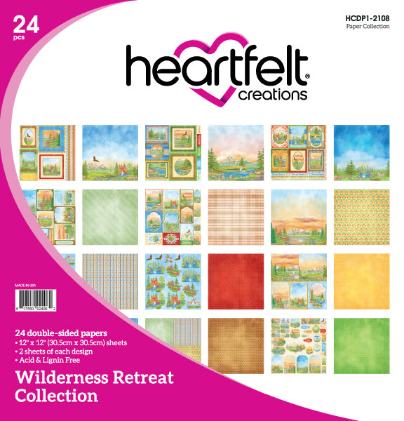 HCDP1-2108 - Wilderness Retreat Paper Collection