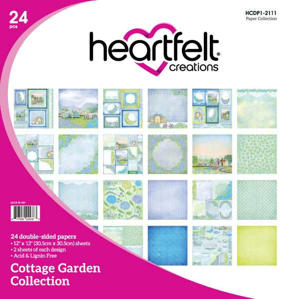 HCDP1-2111 : Cottage Garden Paper Collection