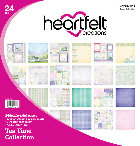 HCDP1-2112 : Tea Time Paper Collection