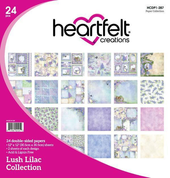 HCDP1-287 : Lush Lilac Collection - Lush Lilac Paper Collection