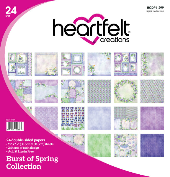 HCDP1-299. - Burst of Spring Paper Collection