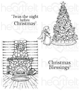 HCPC-3796 - Heartfelt Creation : Winter's Eve Cling Stamp Set