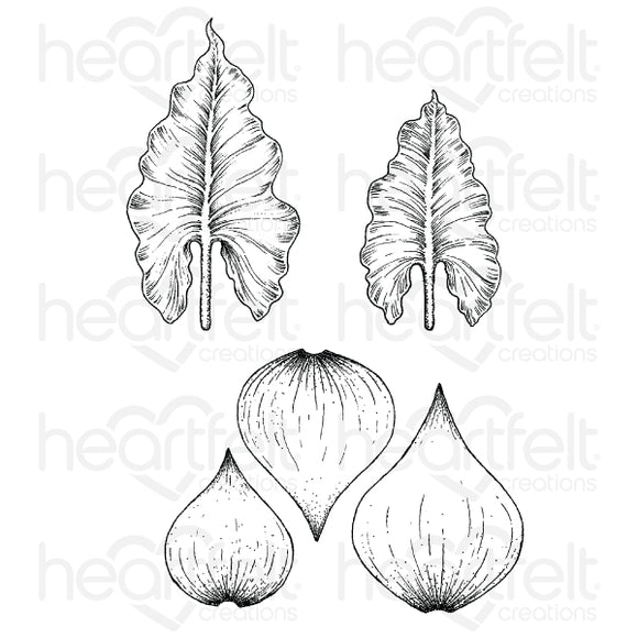 HCPC-3897 : Calla Lily Cling Stamp Set