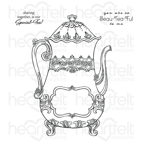 HCPC-3903 : Special Teapot Cling Stamp Set