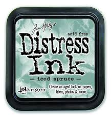 Ranger Distress Ink - Iced Spruce Mini