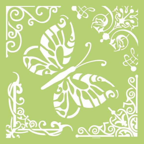 IT484 - 6x6 Designer Template - Butterfly Corners