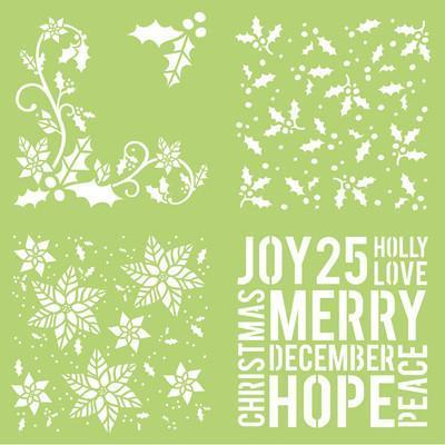 IT916 - 12x12 Designer Template Holly