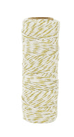 LDB1062 - Lucky Dip Gold Metallic Hemp Cord