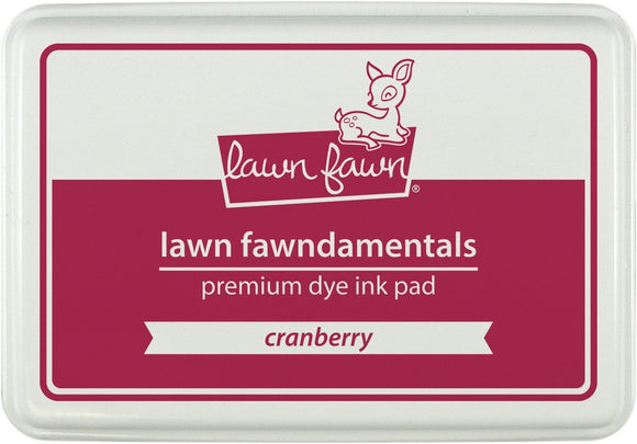 Lawn Fawn LF859 Cranberry- ink pad
