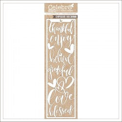 MB3640 : Love Chipboard (Celebr8 - You Are Amazing)