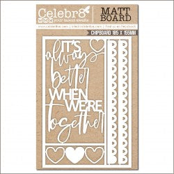MB4649 : Chipboard (Celebr8 - Enchanted)