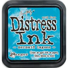 Ranger Distress Ink  - Mermaid lagoon