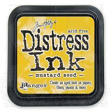 Ranger Distress Ink Pad - Mustard Seed Mini