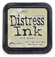 Ranger Distress Ink pad - Old Paper