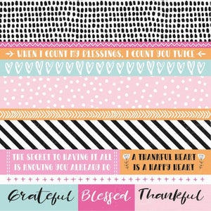 P2673 : Blessed 12x12 Scrapbook Paper - Friendship