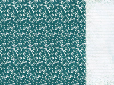 P2760 : Morning Dew 12x12 Scrapbook Paper - Calming
