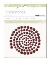 RS401 - Rhinestones - Wine