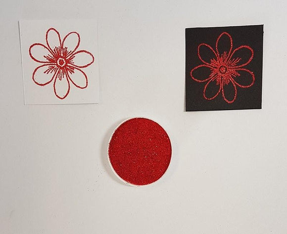 Embossing Powder - Red Tinsel BULK
