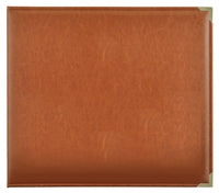 SA007 :  Kaisercraft   Albums : D-Ring Album Leather - Tan