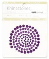 SB706 :  Kaisercraft  Misty Mountains : Rhinestones - Dark Purple
