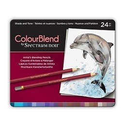 ColourBlend by Spectrum Noir 24pc Pencil Tin - Shade and Tone