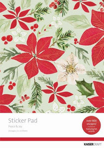 SP303 - Peace & Joy Sticker Pad