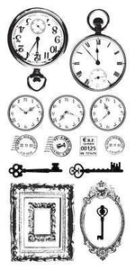ST914 - Kaisercraft : Clear Stickers Antiques