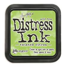 Ranger Distress Ink -Twisted citron Mini