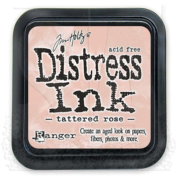 Ranger Distress Ink Padm - Tattered Rose Mini