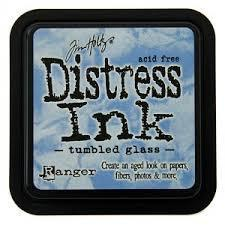 Ranger Distress Ink- Tumbled Glass Mini
