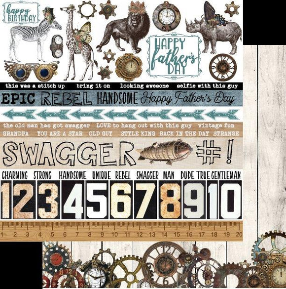 UCP2078 : Swagger - Steampunk Safari (Uniquely Creative)