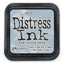 Ranger Distress Ink Pad- Weathered Wood Mini