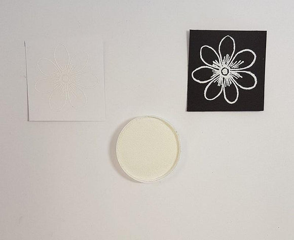 Embossing Powder - White Small