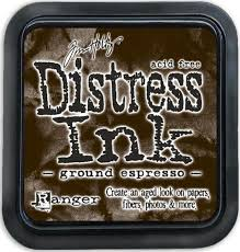 Ranger Distress Ink - Ground espresso Mini