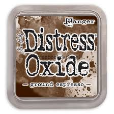 Ranger Distress Oxide Ink Pad - Ground expresso