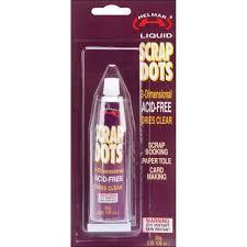 Helmar Liquid Scrap Dots - 1.6oz tube