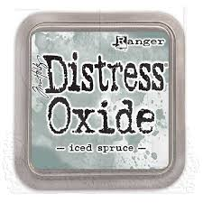 Ranger Distress Oxide Ink Pad - Iced Spruce