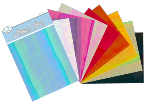 Shimmer Sheets - Iris Sampler 10 pack