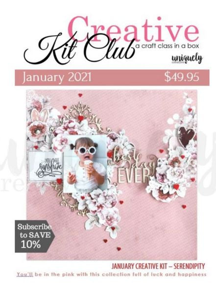 Creative Kit Club Magazine - Serendipity (Uniquely Creative)